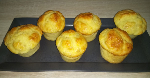 Muffins emmental et graines de moutarde